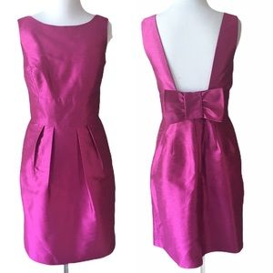 Alfred Sung Fuchsia Pink Fit & Flare Dress